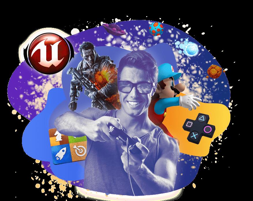 Старт ближайших курсов в Москве Разработчик игр <br> (Unreal Engine) 12 мая